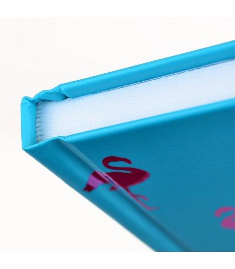 """Блокнот А5 / 96 7БЦ, фольга рожева, пантон, гліттер, мат.ламінація """"Animal pattern"""" YES"""
