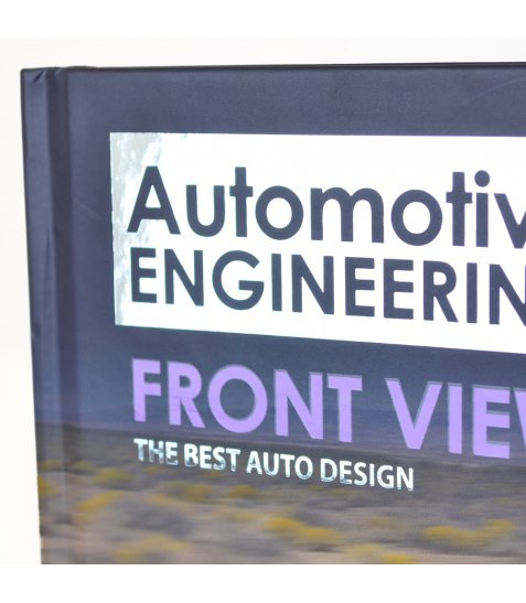 """Блокнот А5 / 64 7БЦ, фольга срібло, УФ вибірка, пантон, мат.ламінація """"Automotive"""" YES"""