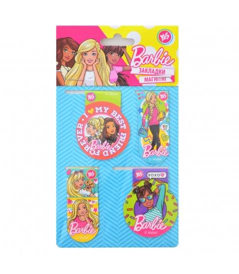 """Закладки магнітні """"Barbie"""" 706391"""