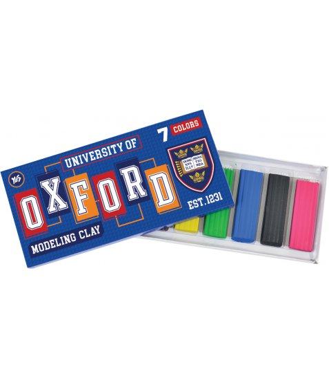 """Пластилін 7 кол. """"Oxford"""""""