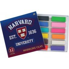 """Пластилін 12 кол. """"Harvard"""""""