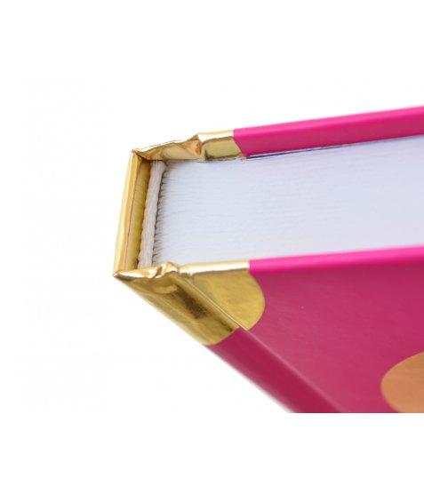 """Блокнот А4 / 160 7БЦ, Фольз золото, пантон, мат.ламінація """"Oh my diary"""" YES"""