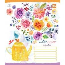 А5/12 лін. YES Flower patterns, зошит учнів.