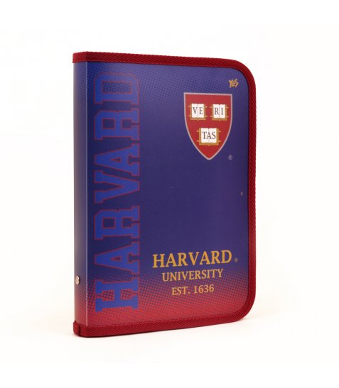 "Папка для зошитів пласт. на блискавці B5 ""Harvard"""