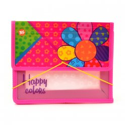 "Папка для зошитів пласт. на гумці В5 ""Happy colors"""