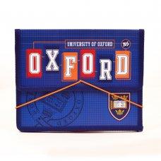 "Папка для зошитів пласт. на гумці В5 ""Oxford"" (blue)"
