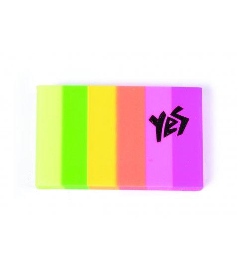 "Ластик у формі прямокутника YES ""Pantone"", 2 кол./уп."
