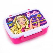 """Контейнер для їжі """"Barbie"""" 420 мл, з роздільником"""