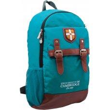 """Рюкзак для підлітків YES  CA064 """"Cambridge"""", бірюзовий, 29*13*48см"""