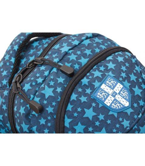 """Рюкзак для підлітків YES  CA011 """"Cambridge"""", синій, 32.5*13*45.5см"""