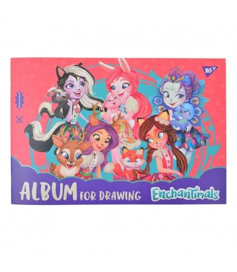 Альбом для малювання А4 12л / 120 скоба, з перфорацією YES (д)