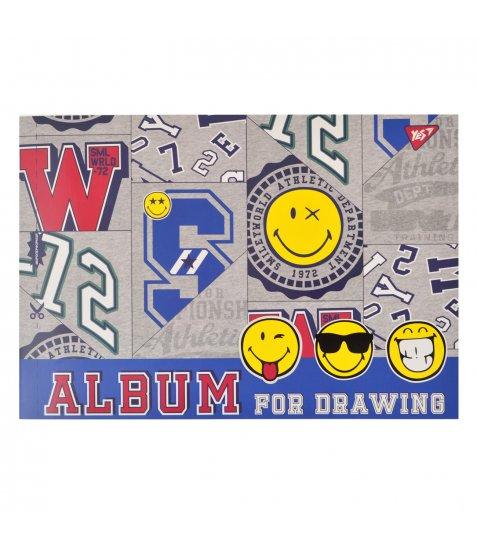 Альбом для малювання А4 12л / 120 скоба, з перфорацією YES (х)