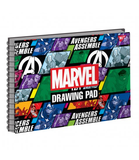 Альбом для малювання А4 20 Yes Спіраль Marvel