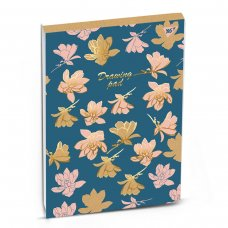 Альбом для малювання А4 40 Yes Склейка Pastel Flowers Крафт