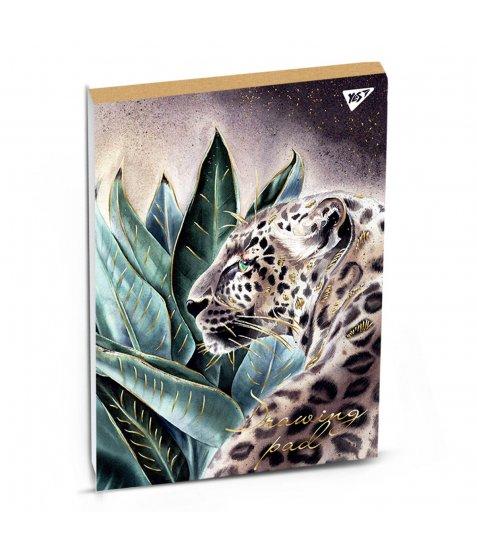 Альбом для малювання А4 40 Yes Склейка Katya Rozz Крафт