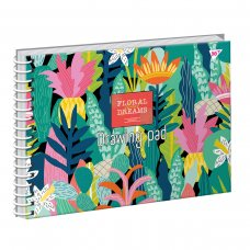 Альбом для малювання А4 20 Yes Спіраль Tropical Paradise
