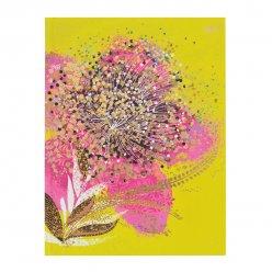 "Блокнот А5/64 КЛ. інтег., фольга золото+глітер золото ""Opium. Flower"" YES"