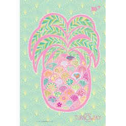 Зошит В6 / 144 пл.обл. Turnowsky. Art pineapple  YES
