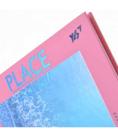 """Блокнот 140*185/64 КЛ. 7БЦ """"Place ot the best""""  YES"""