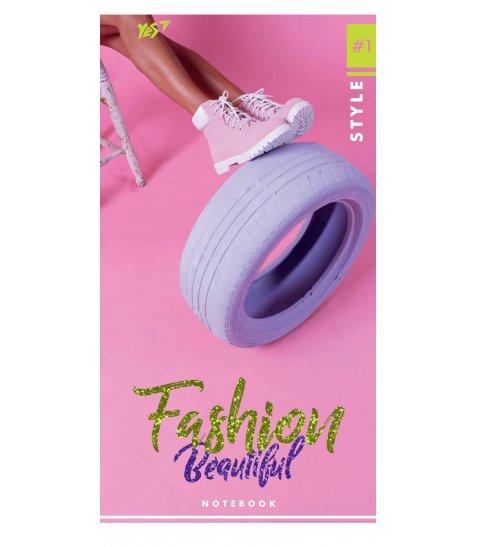 "Блокнот 100 * 200/64 КЛ. інтег. ""Fashion beautiful"" YES"