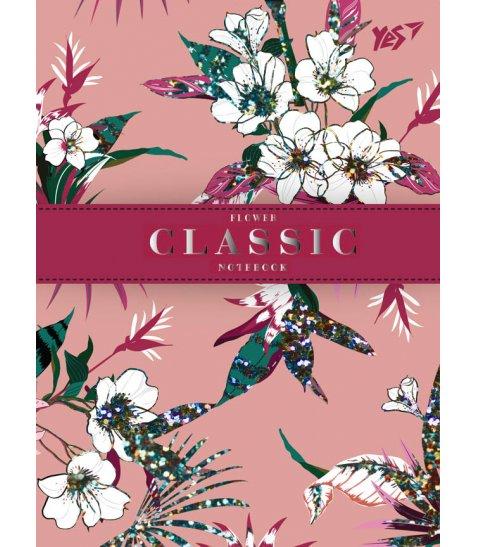 """Блокнот А6 / 64 ТЧК. 7БЦ """"Flower classic"""" YES"""