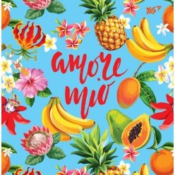 "Блокнот 150 * 150/64 КЛ. інтег. ""Tropical vibes"" YES"