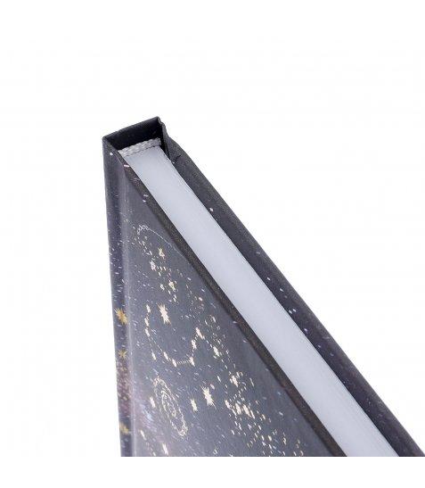 """Блокнот для записів А4/96 кл. 7БЦ, лам.софт-тач+фольга золото  """"STARS"""" YES"""
