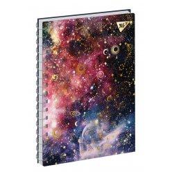 Блокнот А5 64 Лин. YES 7БЦ Дв.Спираль Stars