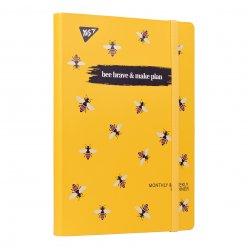 """Планер YES недат. укр. """"Bee Braves"""", інтегр., 197*145мм , 192 стор., стікери"""