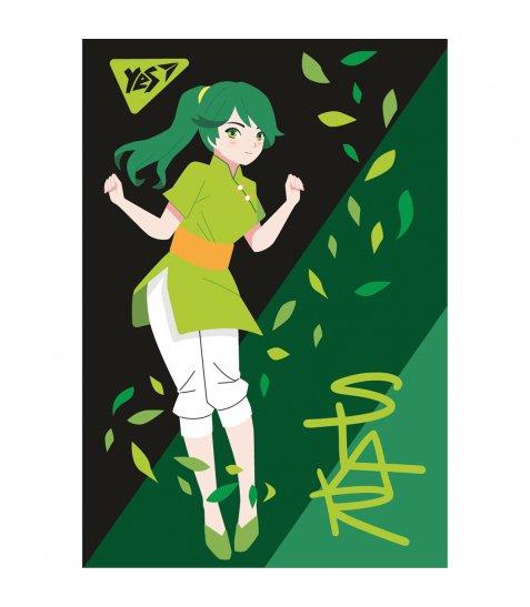 "Блокнот А7/48 кл клей YES ""Anime"" - фото 1 з 8"