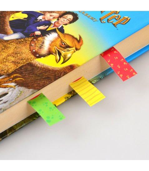 """Індекси паперові YES """"Funny Monsters"""", 50*15мм, 120 шт (6*20)"""