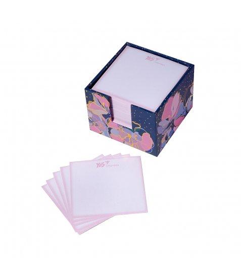 """Папір для нотаток YES в картонному боксі """"Viola"""", 400 аркушів"""