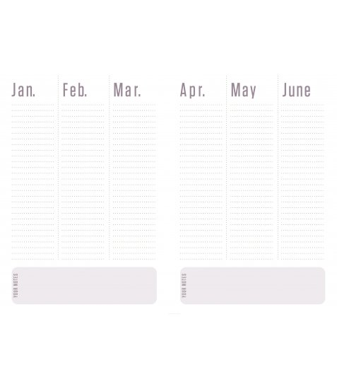 """Щоденник А5 недат. YES """"Jet"""", м'як., 432 стр., білий - фото 8 з 12"""