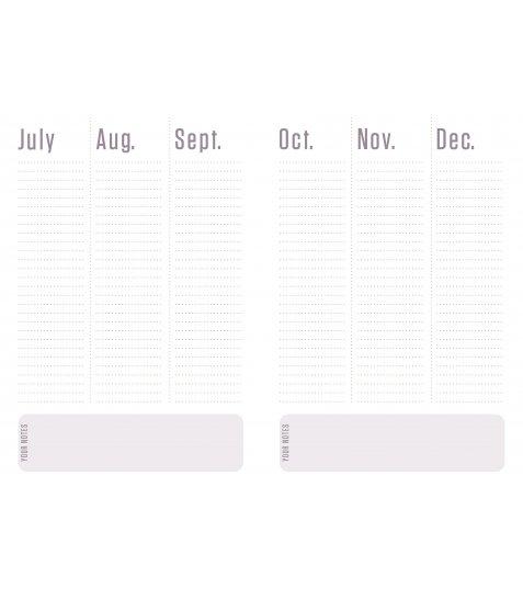 """Щоденник А5 недат. YES """"Jet"""", м'як., 432 стр., білий - фото 9 з 12"""