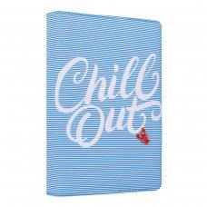 "Щоденник А5 недат. YES ""Chill out"", тверд., 432 стр., блакитний"