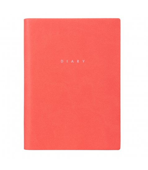 "Щоденник А6 недат. YES ""Chill out"", м'як., 432 стр., кораловий"