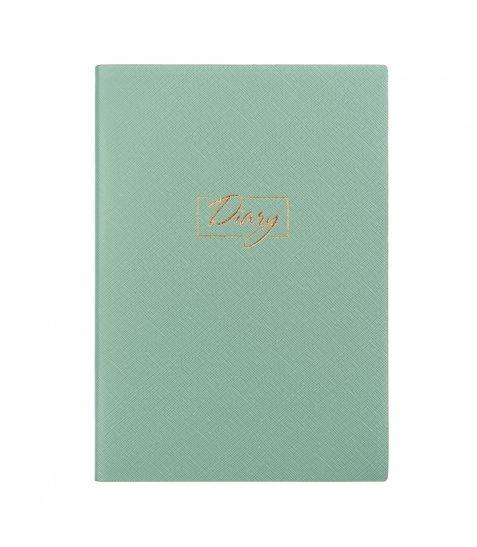 "Щоденник А5 недат. YES ""Delicato"", тверд., 432 стр., фісташковий"