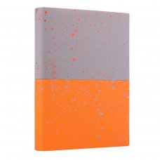 """Щоденник А5 недат. YES """"Giovanni"""", м'як., 432 стр., сірий/помаранчовий"""