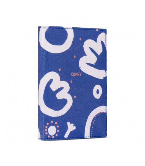 Щоденник Yes А6 недатований Ultramarine flowers art - фото 1 з 4
