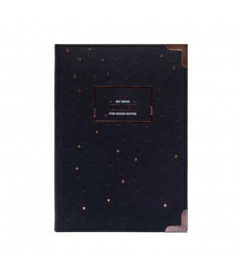 """Щоденник Yes А6 недатований """"Margot Black&White"""" - фото 3 з 4"""