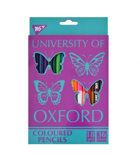 "Олівці 18/36 кол. ""Oxford Butterflies"""