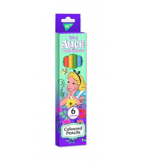 """Олівці кольорові YES 6 кол. """"Alice"""""""