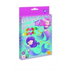 """Олівці кольорові YES 18 кол. """"Mermaid"""""""