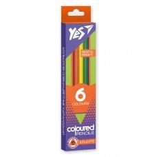 """Олівці кольорові YES 6 кол.  """"Erudite"""""""
