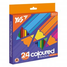"Карандаши цветные YES 24 цв.  ""Erudite"""