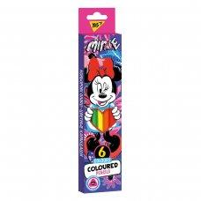 """Карандаши цветные YES 6 цв.  """"Minnie Mouse"""""""