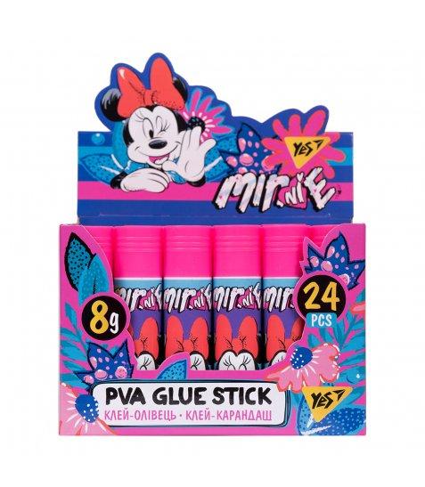 """Клей-олівець YES, 8г, PVA """"Minnie Mouse"""" - фото 2 з 2"""
