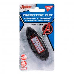 "Коректор YES стрічковий 5мм х 6м ""Marvel.Avengers"""