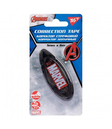 """Коректор YES стрічковий 5мм х 6м """"Marvel.Avengers"""" - фото 1 з 1"""