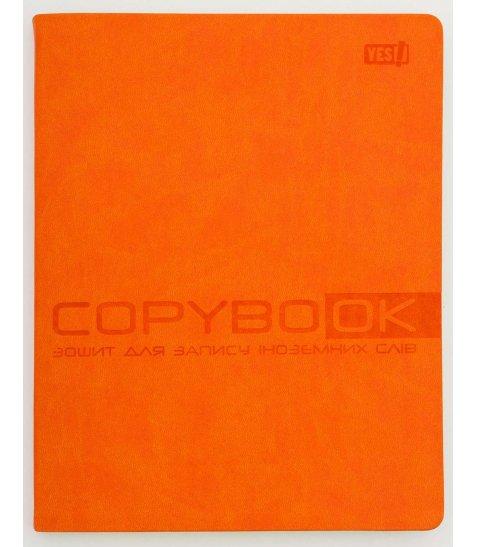 Зошит для запису іноземних слів PU, помаранчева